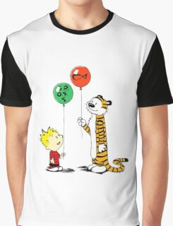 Calvin and Hobbes balloon Graphic T-Shirt