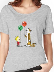 Calvin and Hobbes balloon Women's Relaxed Fit T-Shirt