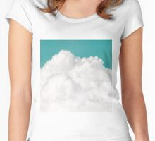 Dreaming Of Mountains Women's Fitted Scoop T-Shirt