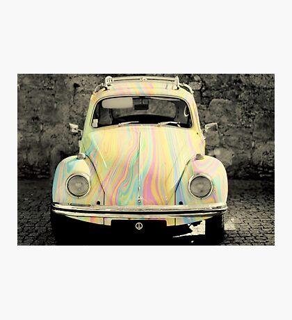 groovy beetle Photographic Print