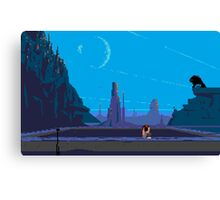 I'll take you to Another World Canvas Print