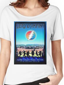 DEAD AND COMPANY SUMMER TOUR 2016 ALPINE VALLEY MUSIC THEATRE,EAST TROY,WI Women's Relaxed Fit T-Shirt