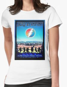 DEAD AND COMPANY SUMMER TOUR 2016 ALPINE VALLEY MUSIC THEATRE,EAST TROY,WI Womens Fitted T-Shirt