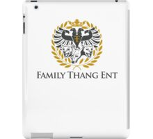 Family Thang Ent Official Logo iPad Case/Skin