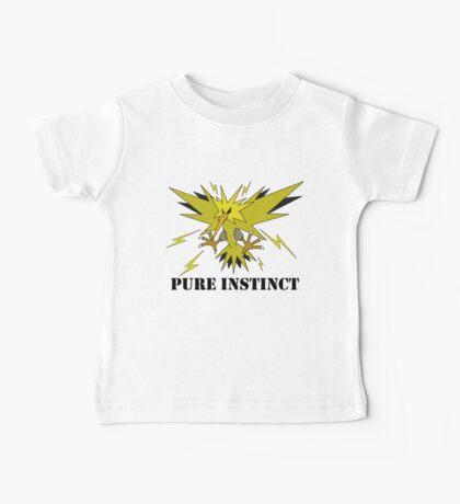 Pure Instinct Zapdos  Baby Tee