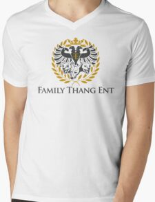 Family Thang Ent Official Logo Mens V-Neck T-Shirt
