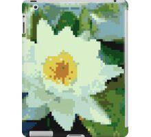 8bit lotus iPad Case/Skin