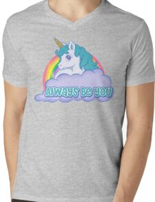Always Be You Mens V-Neck T-Shirt