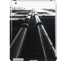 Parallel Pipes iPad Case/Skin