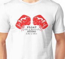 Muhammad Ali - Float Like a Butterfly Sting Like a Bee Unisex T-Shirt
