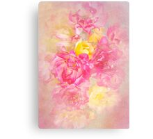 Soft Pastels Canvas Print