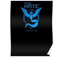Mystic - Pokemon GO! Team Mystic as Game of Thrones Sigil Banner Poster