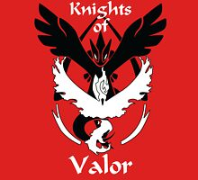 Knights of Valor, black and white Women's Fitted Scoop T-Shirt