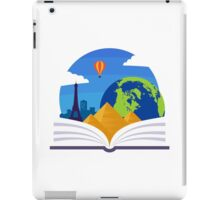 Geography Emblem iPad Case/Skin