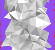 Origami Diamond Sticker