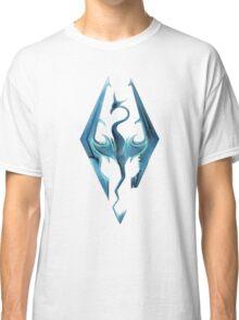 Skyrim blue logo Classic T-Shirt