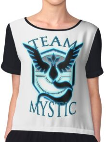 [Pokemon Go] Team Mystic t-shirt Chiffon Top