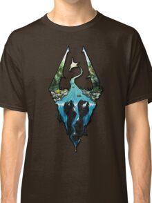 Custom Skyrim Logo Classic T-Shirt