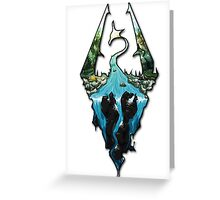Custom Skyrim Logo Greeting Card
