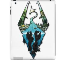 Custom Skyrim Logo iPad Case/Skin