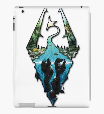 Custom Skyrim Logo iPad Case/Skin