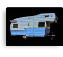 Vintage Travel Trailer Canvas Print