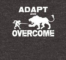 Adapt and Overcome - White Graphic Unisex T-Shirt