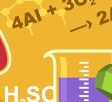 Inorganic Chemistry Emblem Sticker