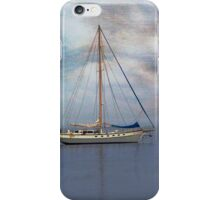 Boat on the River Tay Dundee Scotland. iPhone Case/Skin
