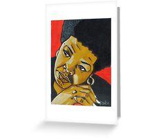 Tribute to Maya Angelou Greeting Card