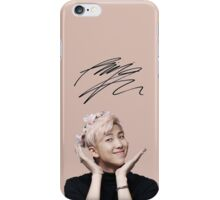 Pink Namjoon [[SIGNATURE]] iPhone Case/Skin