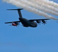 Airbus A400M Military Transport Aircraft  with the Red Arrows Sticker