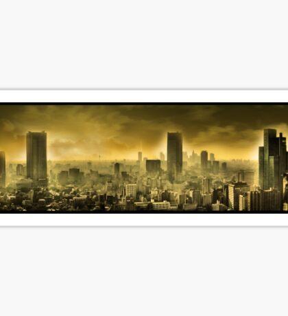 Nuclear city, Apocalypse Sticker