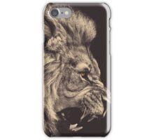Lion case iPhone Case/Skin