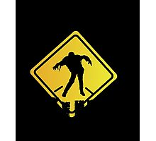 Zombie Crossing Xing Photographic Print