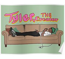 Tyler, The Creator on a couch Poster