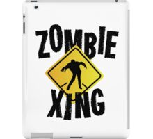 Zombie Crossing Xing iPad Case/Skin