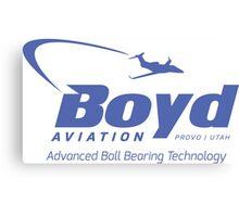 Boyd Aviation Canvas Print