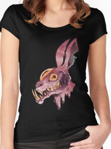Mandible Hare Women's Fitted Scoop T-Shirt