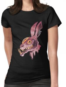 Mandible Hare Womens Fitted T-Shirt