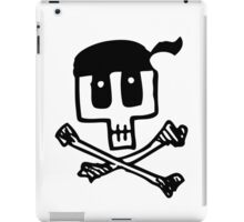 Cute Pirate Skull and Cross Bones iPad Case/Skin