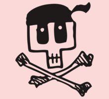 Cute Pirate Skull and Cross Bones Kids Clothes