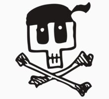 Cute Pirate Skull and Cross Bones Kids Clothes