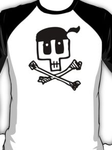 Cute Pirate Skull and Cross Bones T-Shirt