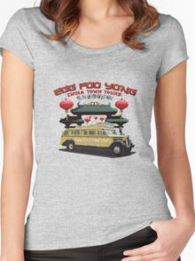 Egg Foo Yong China Town Bus Tours Women's Fitted Scoop T-Shirt