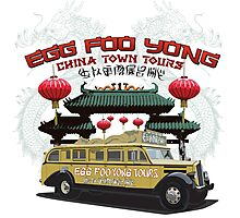Egg Foo Yong China Town Bus Tours Photographic Print