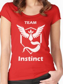 PokeTroll Shirt Instinct Women's Fitted Scoop T-Shirt