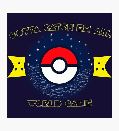 WORLD GAME Photographic Print