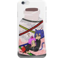 Ship In A Jar  iPhone Case/Skin