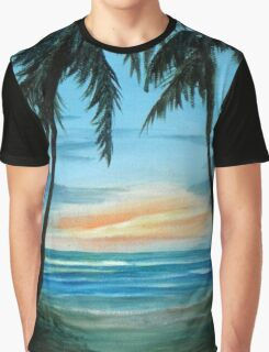 Good Morning Sunshine Seascape Graphic T-Shirt